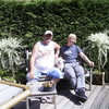 Ron en Niels 22-05-10 1 - In de tuin 2010