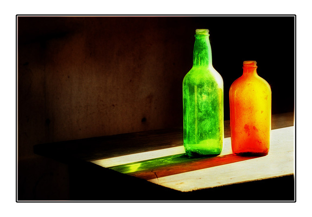 bottles of color 35mm photos