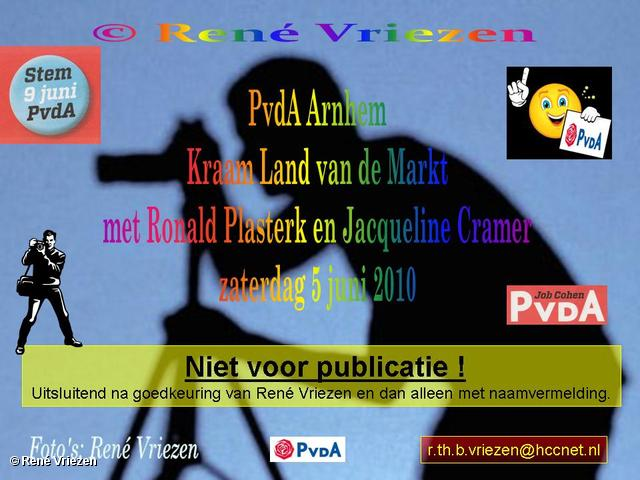 René Vriezen 2010-06-05 #0000 PvdA Arnhem Land vd Mark Campagne TK2010 Mw.J.Cramer en Dhr.R.Plasterk 5 juni 2010