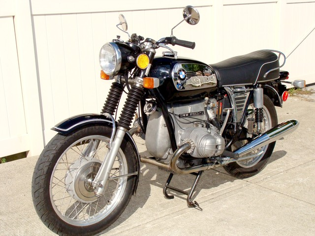 2941938 '73 R60-6 SWB Black Toaster 001 SOLD.........1973 BMW R60/5 SWB Black, Toaster Tank, 55,500 Miles. Very Clean! Top-end just Rebuilt, 10K Service, plus much more!