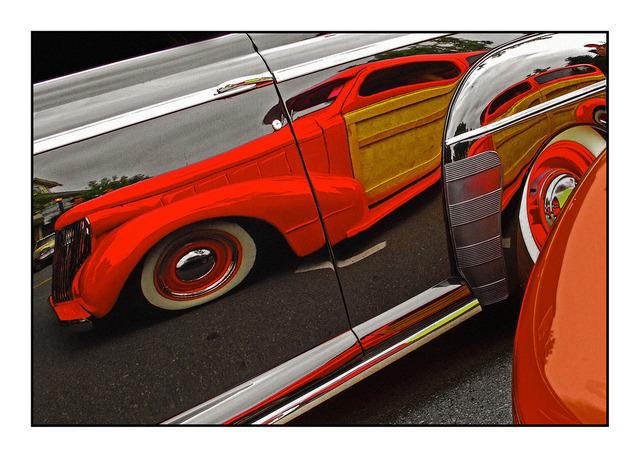 ClassicCarReflection Automobile
