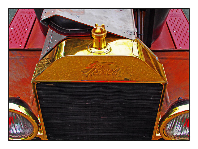 Brass Classic Automobile