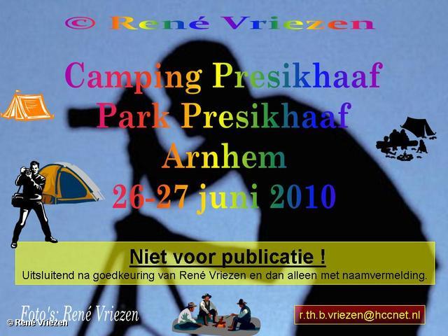 René Vriezen 2010-06-26 #0000 Camping Presikhaaf Park Presikhaaf Arnhem 26-27 juni 2010