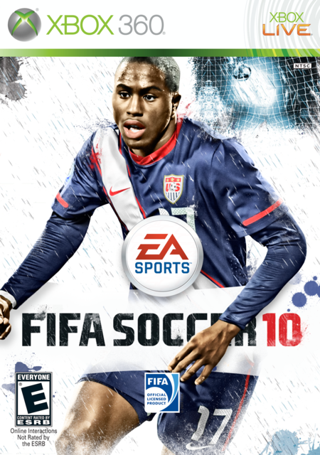 Jozy Altidore FIFA 10 Cover by CSC FIFA