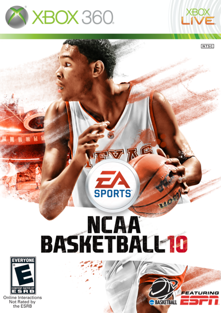 Kevin Durant 10 Cover by CSC NCAAB