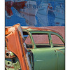 Wreck and Mural - Automobile