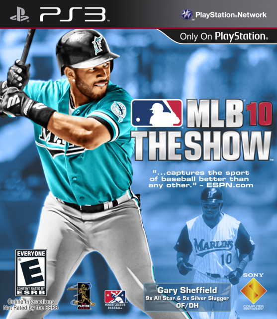 Gary Sheffield Show 10 Cover by CSC MLB The Show
