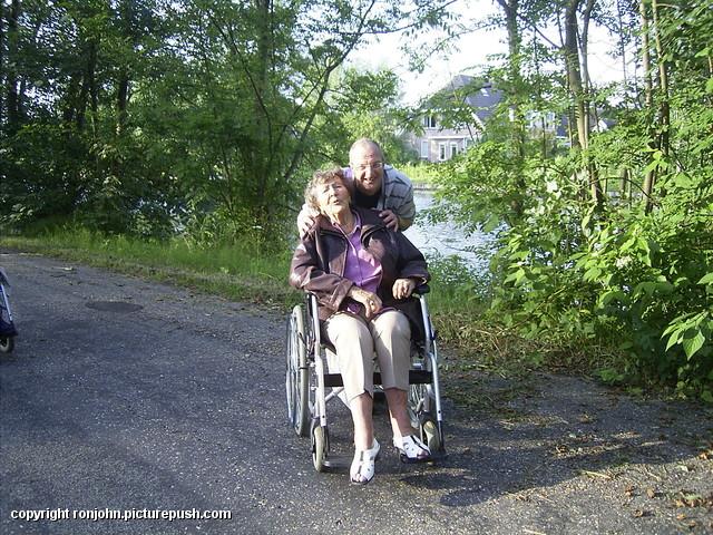 Ma wandelclub - met Will 23-07-10 01 R.I.P. Moeder 14-11-1921 * 31-12-2012