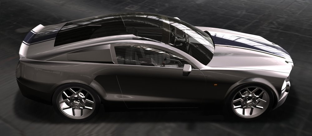 Mustang 2014 concept -