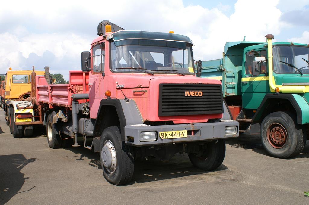 iveco 160 d 18 bk44fv - cab