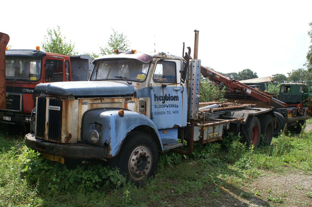 scania ls 86 63zb34 heijblom - cab