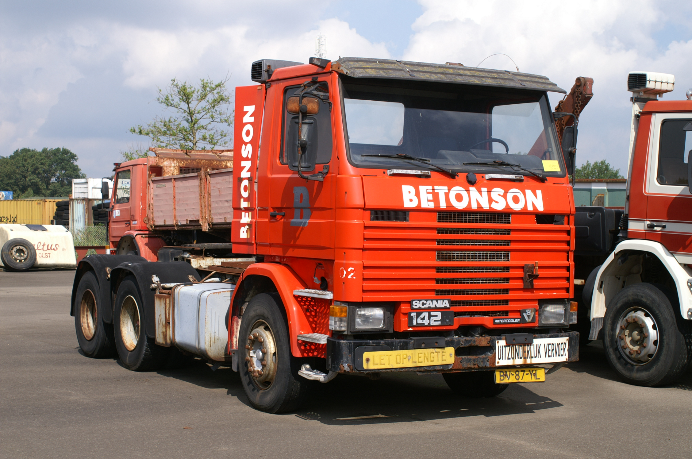 scania r 142 h bv87yl beton... cab Photo album by Mackf786