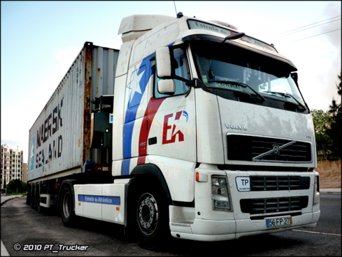PT Trucker Volvo Power - Portuguese Trucks