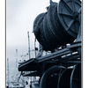 cyan docks - 35mm photos