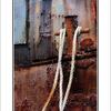 rusty boat - 35mm photos