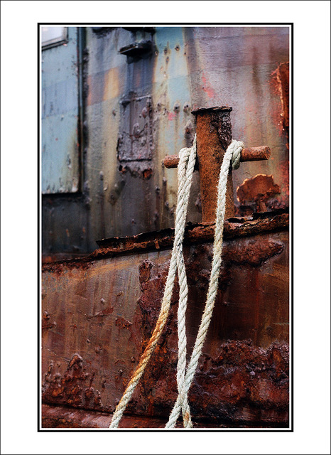 rusty boat 35mm photos