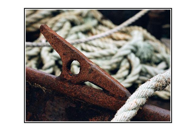 rusty tie down 35mm photos