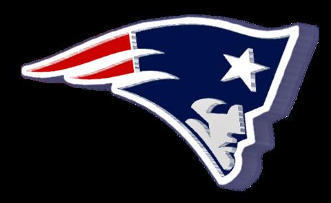 Cars New England Patriots Logo 3d