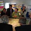 René Vriezen 2010-10-04 #0091 - Bezoek Wethouders Mw. Margr...