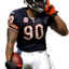 Bears Julius Peppers - 1338... - NFL Players render cuts!