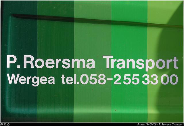 Roersma3 Roersma Transport, P - Wergea