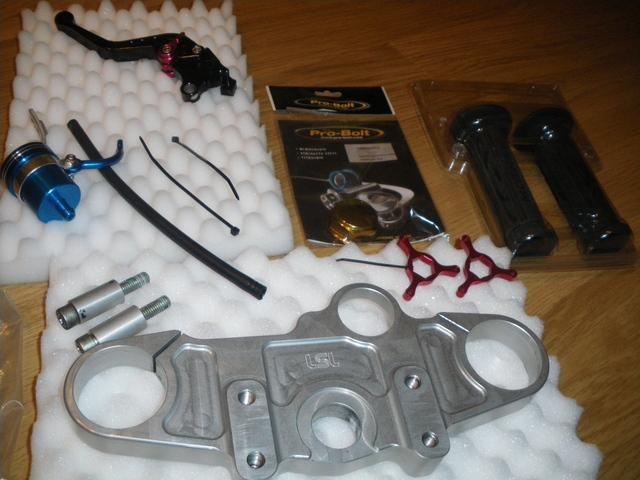 Kit LSL tija manillar alto SV1000S+extras. Bajado a 120eur 4622184