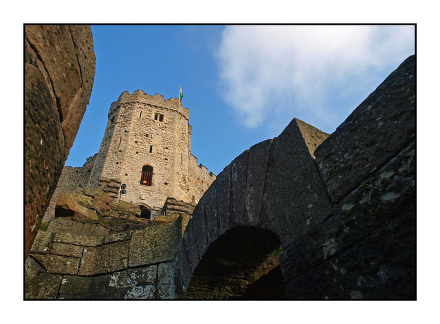 Cardiff Castle Keep - England and Wales