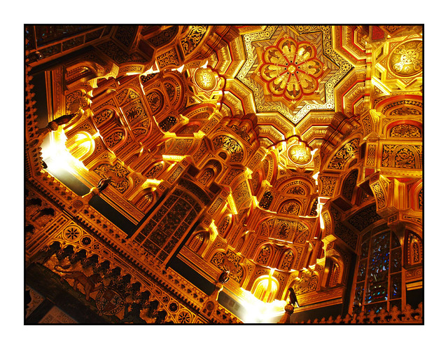 Cardiff Castle Arab Room England and Wales
