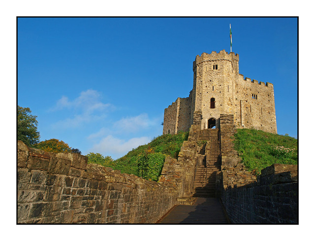 Cardiff Castle England and Wales