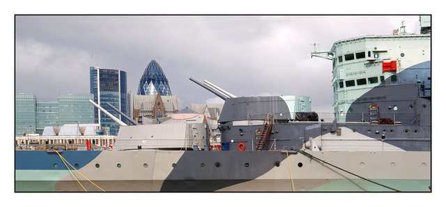 HMS Belfast Brtiain and Ireland Panoramas