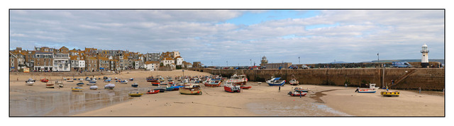 St Ives WidePanorama Brtiain and Ireland Panoramas