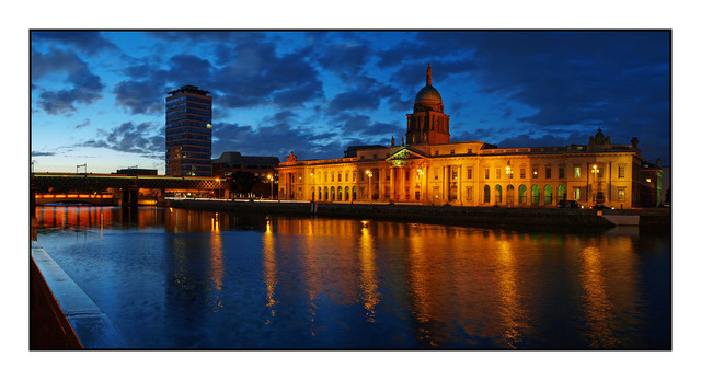 Dublin Custom House Brtiain and Ireland Panoramas
