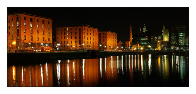 Liverpool Night Pano Brtiain and Ireland Panoramas