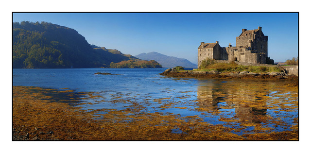 Castle Eilean Donan Brtiain and Ireland Panoramas