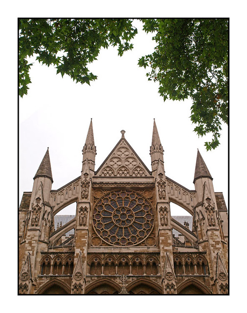 Westminster Abbey Front England and Wales
