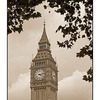 Big Ben Sepia - England and Wales
