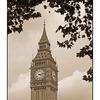 Big Ben Sepia - England and Wales