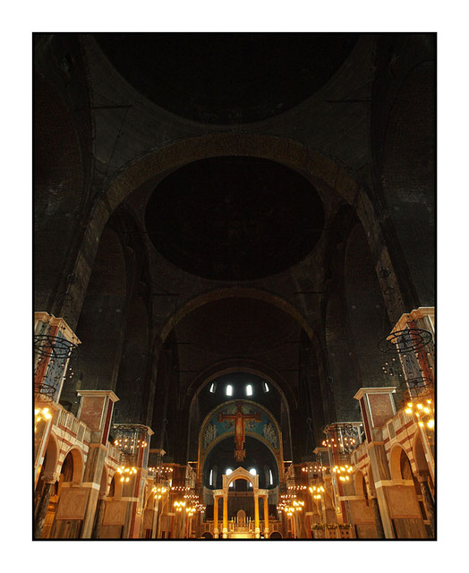 Westminster Cathedral inside England and Wales