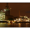 HMS Belfast night - England and Wales