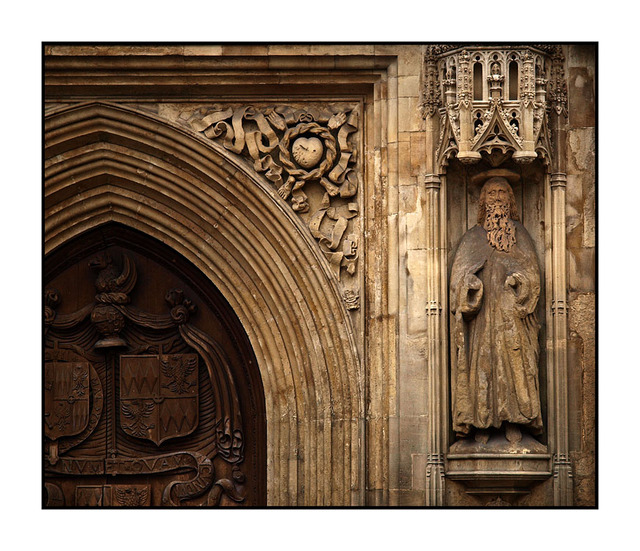 Bath Abbey Door England and Wales