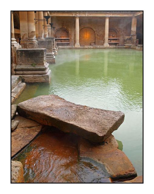 Roman Bath England and Wales