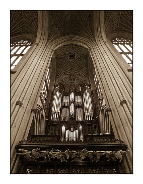 Bath Abbey Organ England and Wales