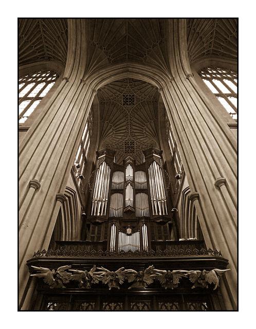 Bath Abbey Organ England and Wales