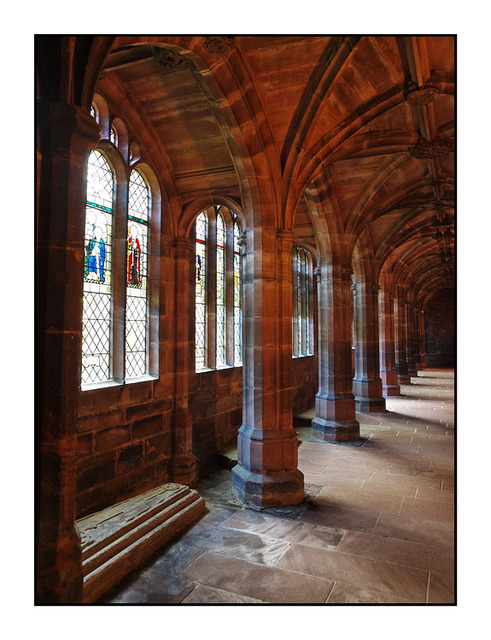 Chester Cathedral Cloister England and Wales