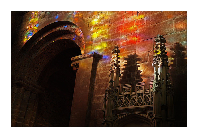 Chester Cathedral Light England and Wales