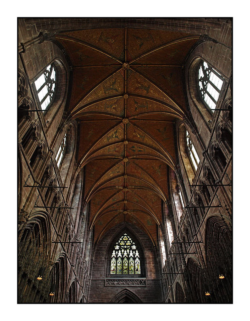 Chester Cathedral Ceiling England and Wales