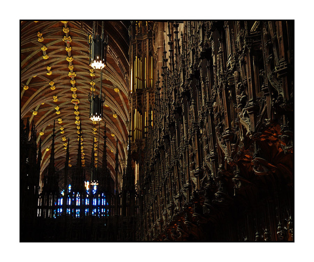 Chester Cathedral Woodwork England and Wales