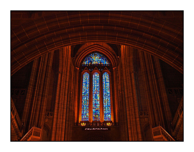 Liverpool Cathedral Glass England and Wales