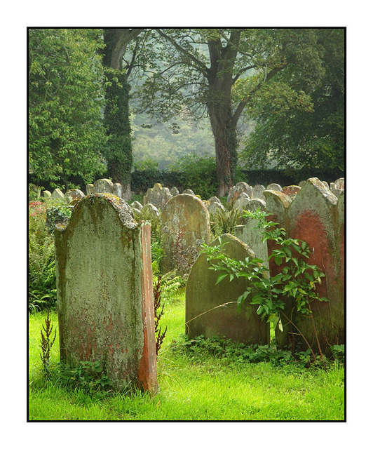 Lanercost Grave Stones England and Wales