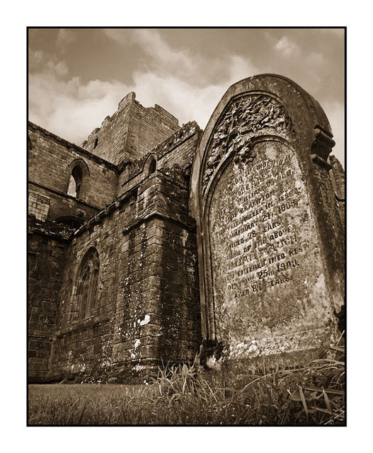Lanercost Graves Sepia England and Wales